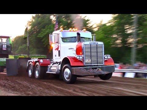 Tractor/Truck/Semi Pulls! 2018 Blanchard Days Pull Session 2