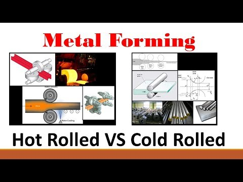 Metal Forming (Part 2: Hot Rolled Versus Cold Rolled Processes)