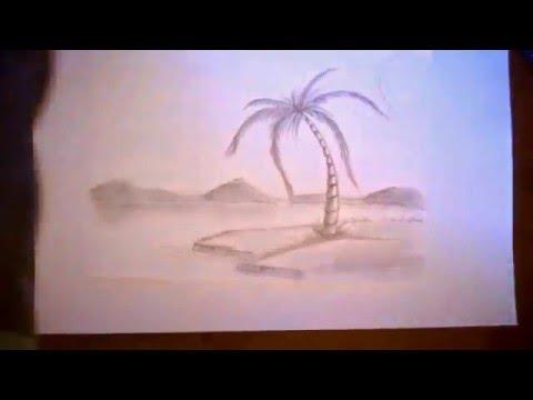 Full download dibujando una palmera facil de hacer - Como hacer una palmera artificial ...