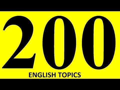 Видео Topic for english essay