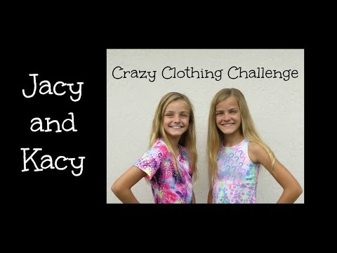 Crazy Clothing Challenge ~ Jacy and Kacy