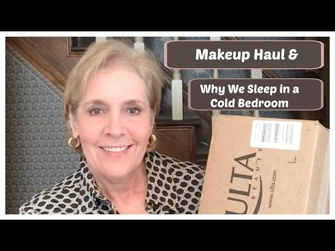 Makeup Haul + Why We Sleep in a Cold Bedroom + Winner Announced