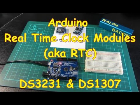 #5 Arduino compatible Real Time Clock modules (RTC) - DS1307 & DS3231