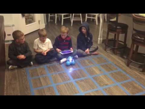 Shadow coders mission 5 with dash and dot