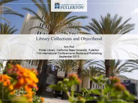 Library Collections and Objecthood