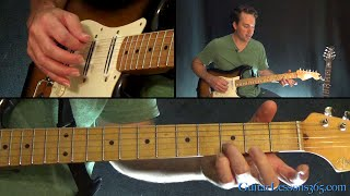Hunger Strike Guitar Lesson - Temple of the Dog