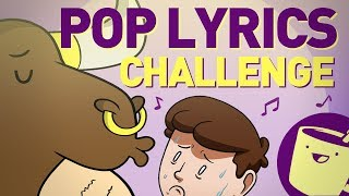 Pop Lyrics Drawing Challenge