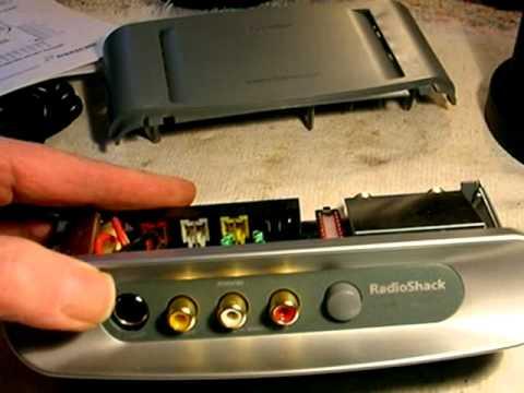 radio shack 15 2525 stereo tv modulator youtube rh youtube com