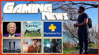 PS5, SSD, Pénurie, Joe Biden réagit, Uncharted le Film Inquiétant ? & Légendes Pokémon | Gaming News