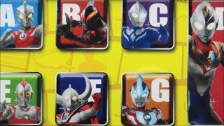 Ultra PAD Ultraman Ginga Zero Orb Victroy Dyna Cosmo Berial Ace Leo Jack X Seven Nice  BANDAI