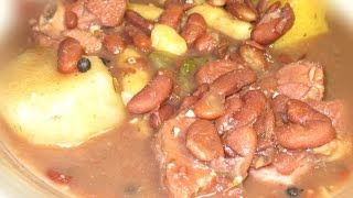 HOW TO COOK JAMAICAN RED PEAS SOUP RECIPE 2015