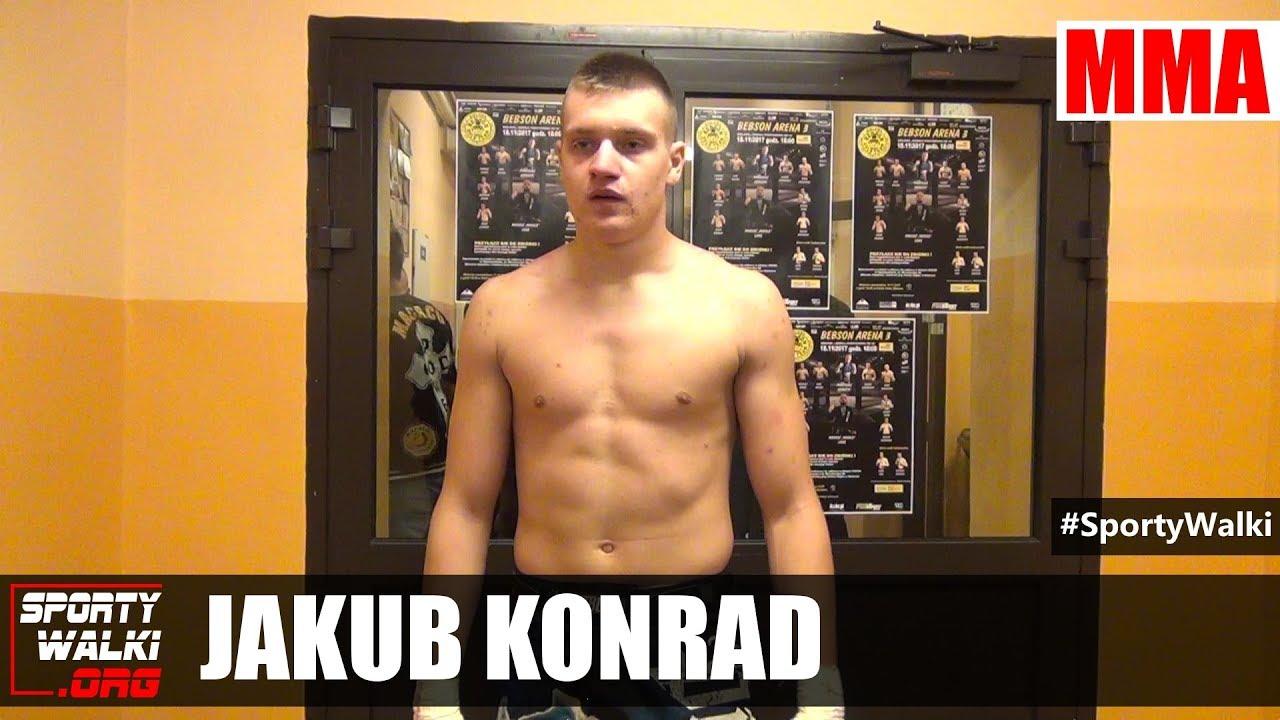 Jakub Konrad po Bebson Arena 3 w Bielawie