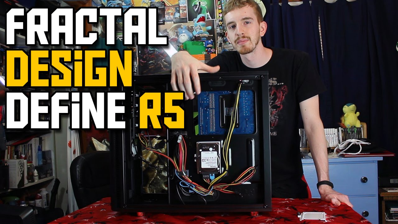 Fractal Design Define R5 Review & Build Impressions - YouTube