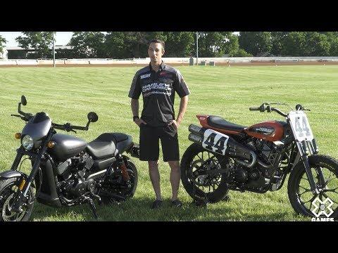 #44 Brandon Robinson's #XG750R | Harley-Davidson