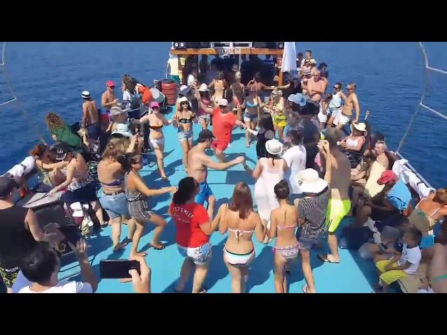 Vlora, Albania - Atmosphere in Tourist Boat