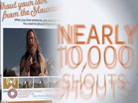 AT&T Case Study: Shout it from the Mountaintop, Will Townsend (BBDO Worldwide)