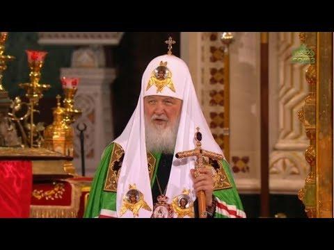 Великая Вечерня, Храм Христа Спасителя, г. Москва, 2019