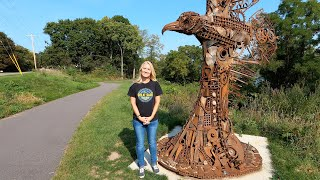 Art on The Trail - Another Great Sauk State Trail Story
