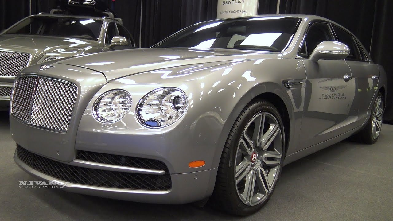 2018 Bentley Flying Spur V8 Exterior Walkaround 2018 Montreal