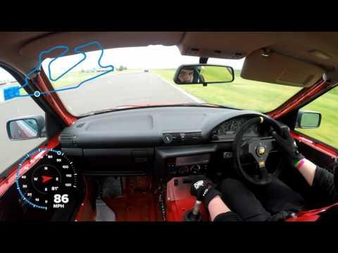 Bedford Autodrome GT Lap GoPro Hero 5 Black GPS
