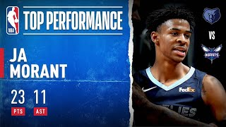 Ja Morant HITS GAME WINNER & CAREER-HIGH 11 Dimes