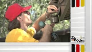 Монтаж пластиковых кронштейнов водостока Деке(, 2015-09-09T12:43:11.000Z)