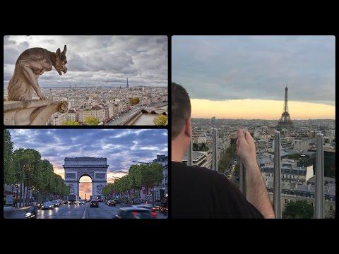 Paris Vlog / Day 1 / Notre Dame,Arc De Triomphe & Eiffel Tower Light Show