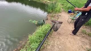 Борьба с сомом и пару слов о рыбалке