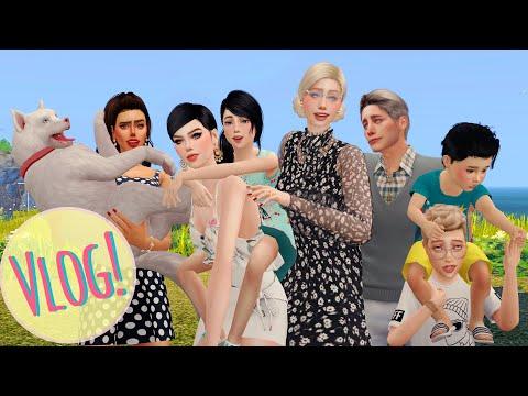 VLOG NA PRAIA COM A FAMÍLIA! | The Sims4