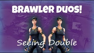 BRAWLER SKIN DUOS - AGGRESSIVE GAMEPLAY (Fortnite Battle Royale)