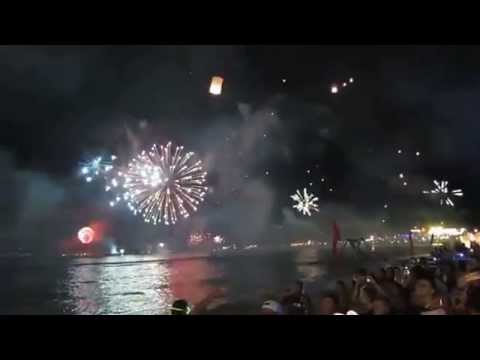 ARKbar New Years Eve Countdown 2012, Chaweng Beach, Koh Samui, .flv