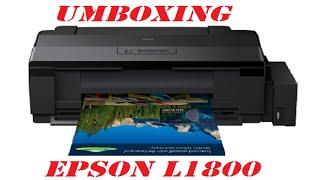 Unboxing Epson L1800