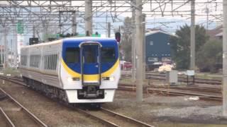 8000系S6編成(台湾EMU800型塗装)出場回送 伊予西条入線
