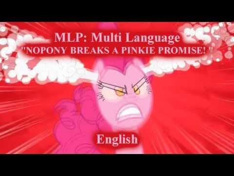 """MLP FiM - """"NOPONY BREAKS A PINKIE PROMISE!"""""""