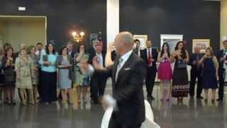 Jose y Ana, el baile de los novios Mancha Real