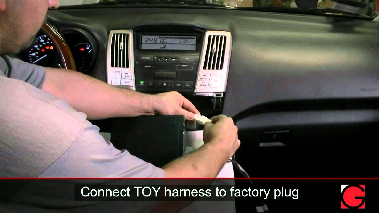 lexus rx330 2006 grom usb2 ipod usb bluetooth adapter interface installation youtube [ 1280 x 720 Pixel ]