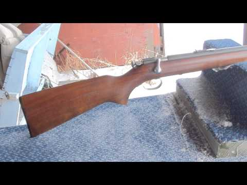 Winchester model 67A: Finding gold at a gunshow.