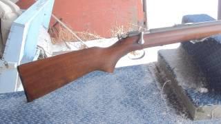 Winchester model 67A: Finding gold at a gunshow.