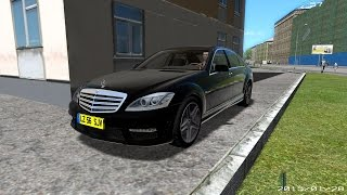 City Car Driving 1.4 - Mercedes-Benz S65 AMG Cruise G27 [Download]