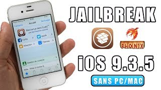 Jailbreak iOS 9.3.5 pour iPhone 5, 5c, 4S, iPad, iPod touch 5G