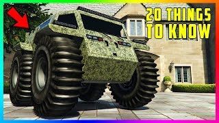 20 Things You NEED To Know Before You Buy The Armored Rune Zhaba In GTA 5 Online! (GTA 5)