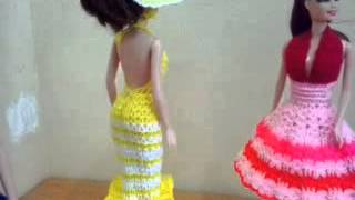 Crochet Clothes Doll 8