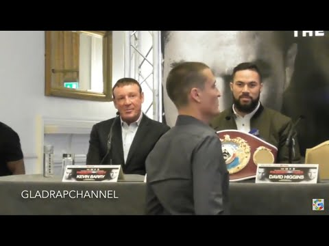 Joseph Parker's promoter kicked out of press conference after fiery exchange with Peter Fury