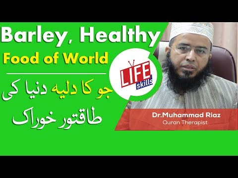 Barley, Most Healthy Food of World in Urdu/Hindi (Tib-e-Nabvi)| Life Skills TV
