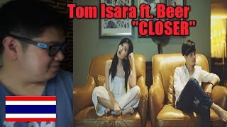 Gambar cover (Filipino Reaction) Tom Isara ft. Beer singing Closer Cover l The Chainsmokers ft. Halsey l Thailand