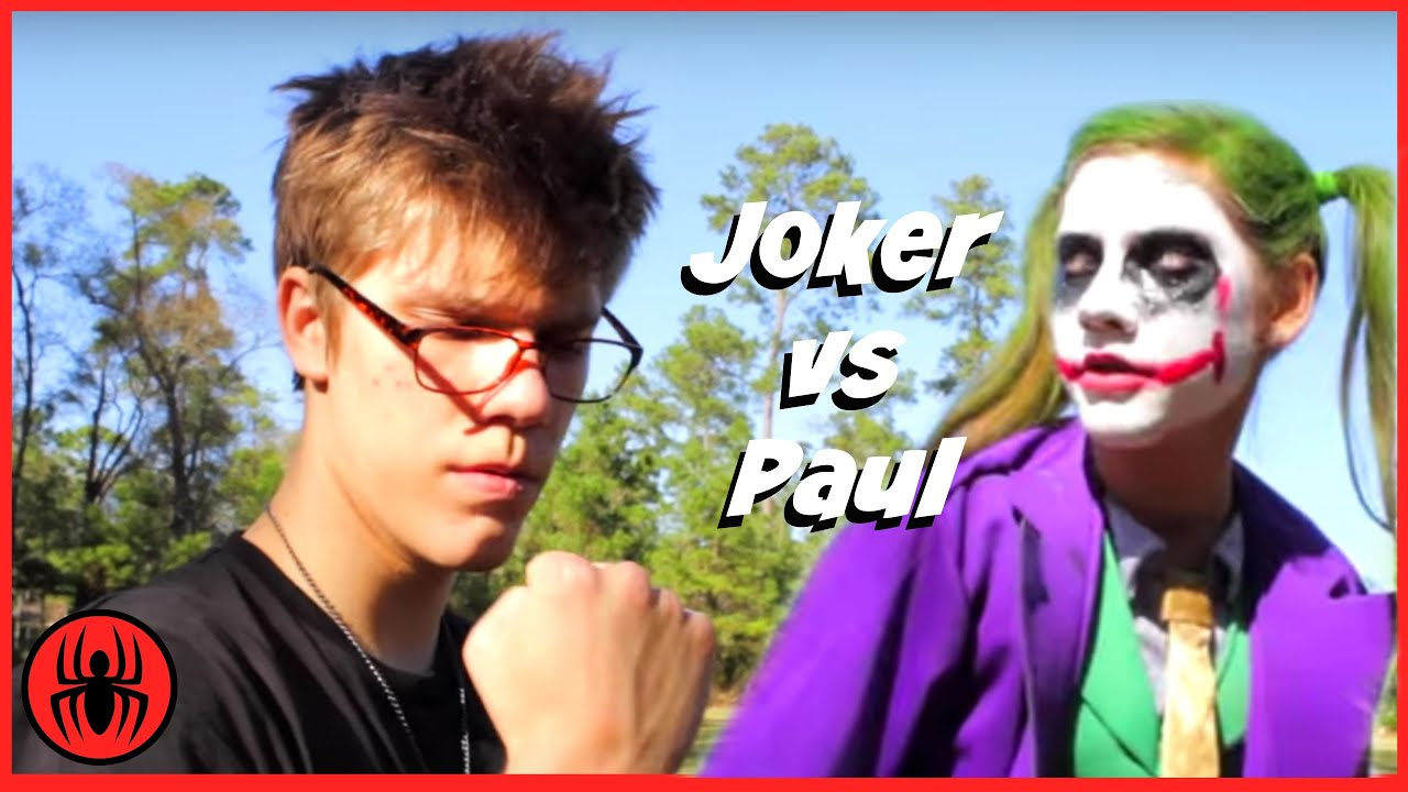 Little Heroes Joker Vs Paul The Return Of Paul Vs Joker In Real - 29 real life heroes