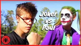 Little Heroes Joker vs Paul | The Return of Paul vs Joker in Real Life Fight Comic | SuperHeroKids