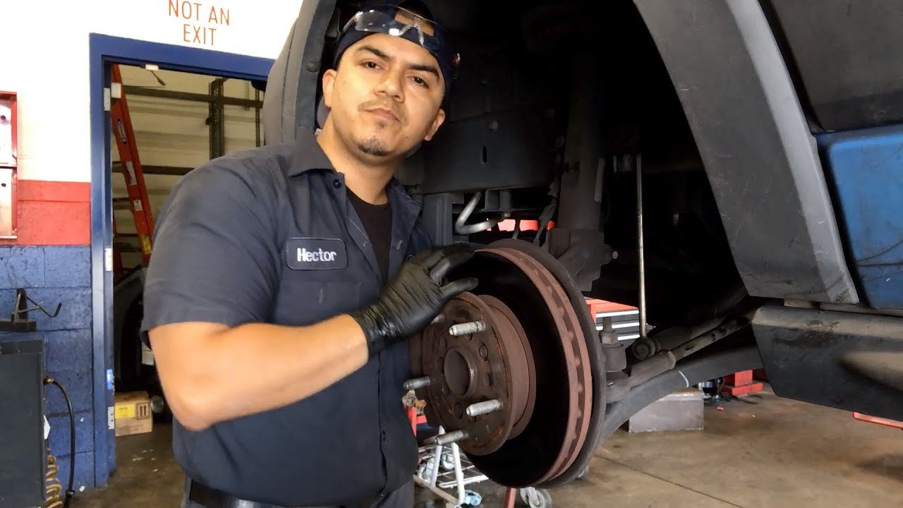 Ford Transit 250 >> 2015 Ford Transit F-250 Brake Pads and Discs - YouTube
