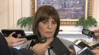 Declaraciones a la prensa de los ministros Dante Sica y Patricia Bullrich