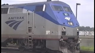 Incredible horn show from Amtrak